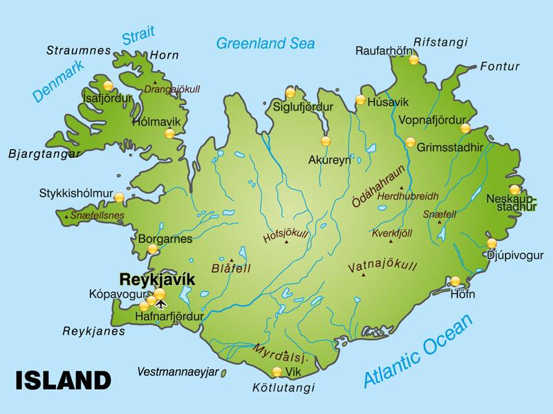 Islandia Polozenie Mapa Flaga Stolica Waluta Klimat Turystyka